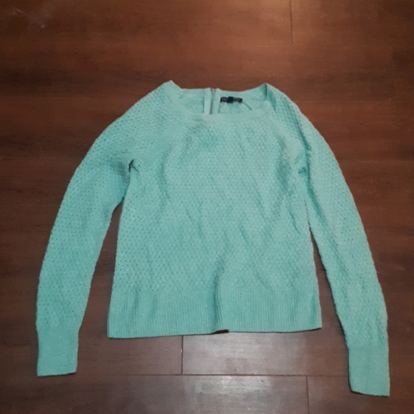 AMERICAN EAGLE OUTFITTERS mint knitted sweater